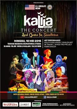 Kalila Project Adakan Konser di Medan