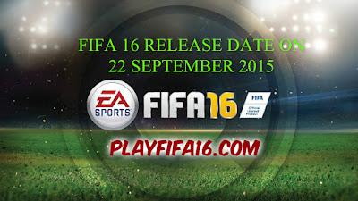 fifa 16 release date 22 september 2015