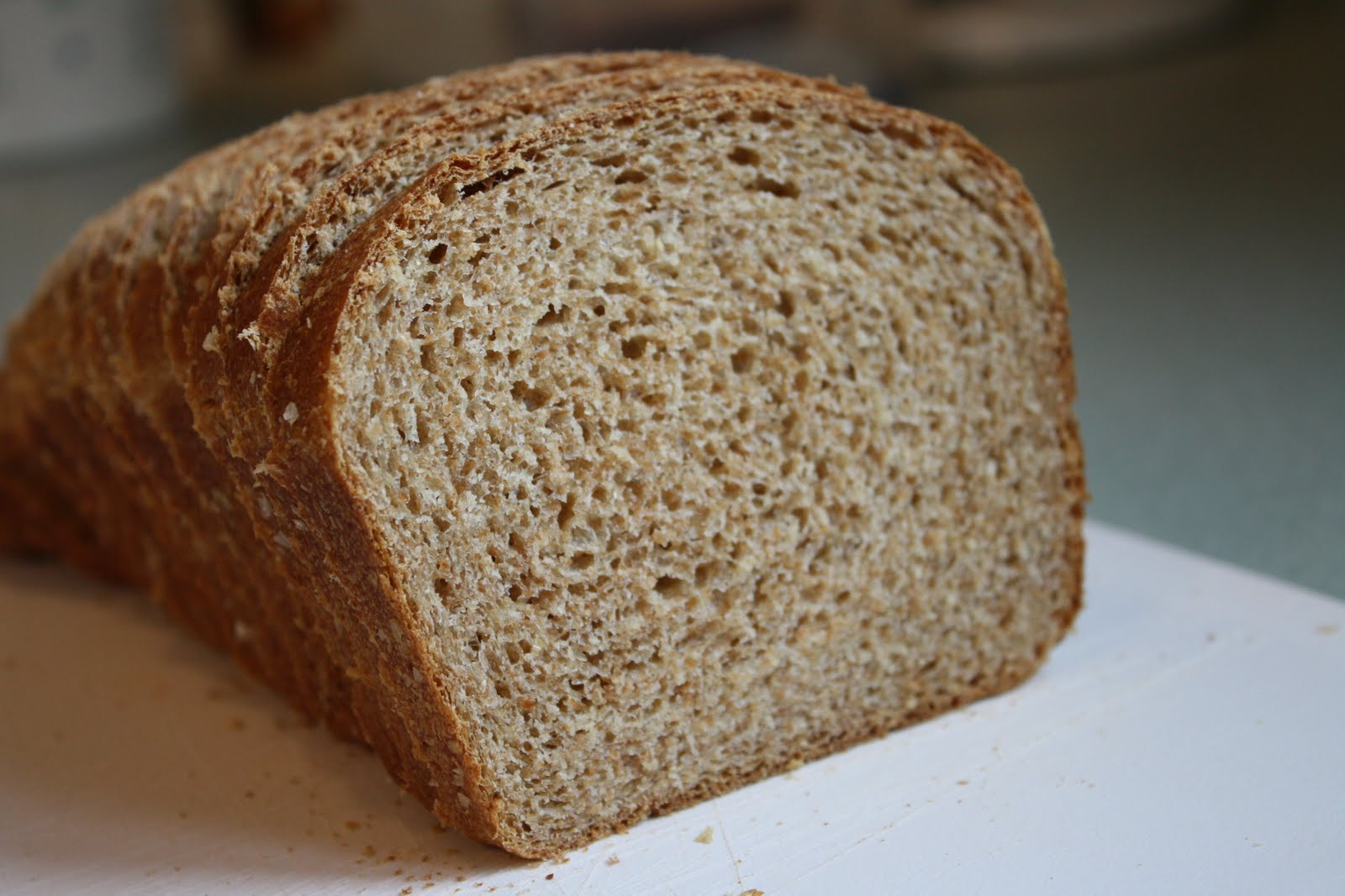 Recipes from Michelle's Kitchen: Classic 100% Whole Wheat Bread