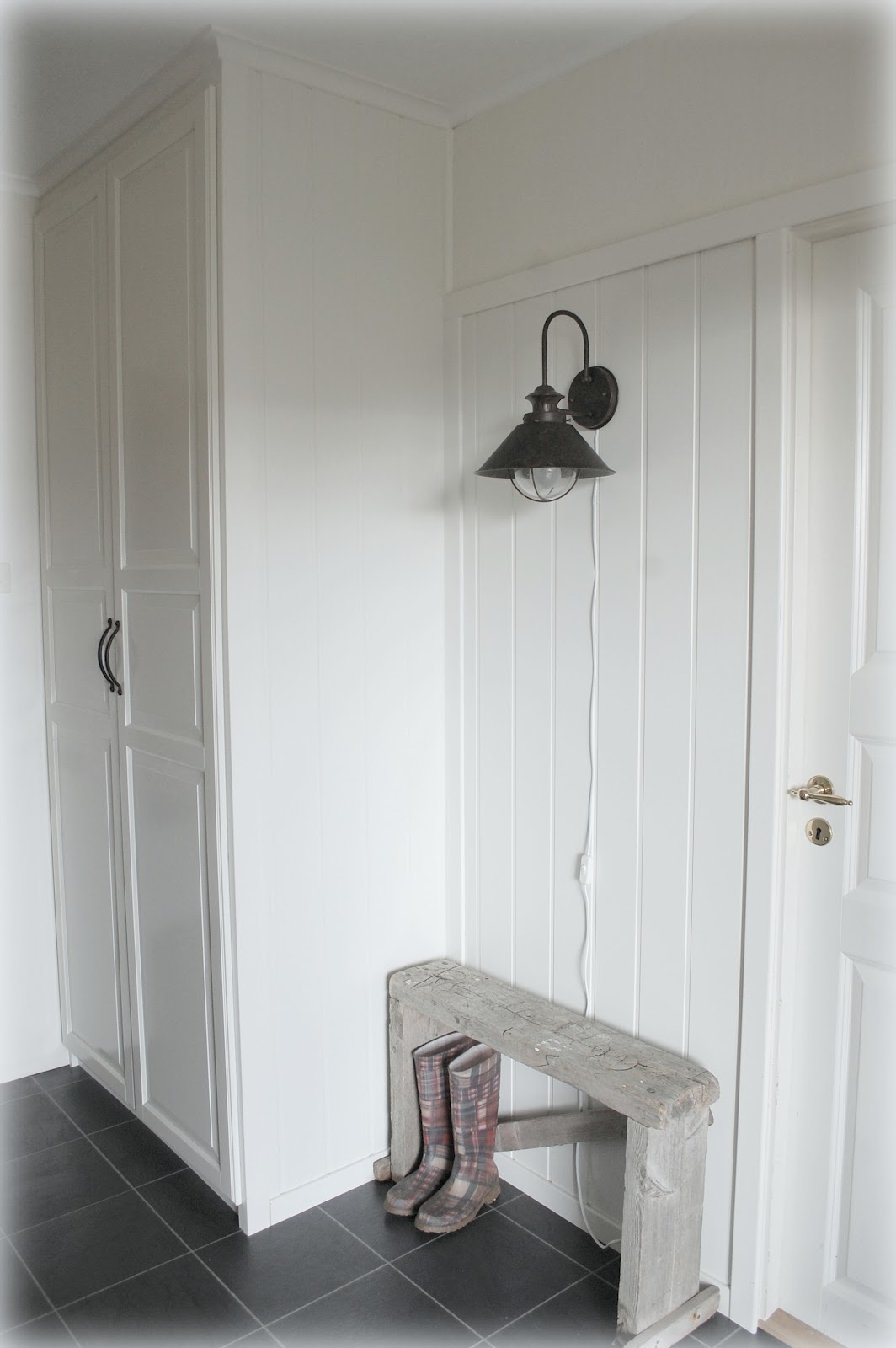 White as linen entry and fall for Ikea pax schuhregal