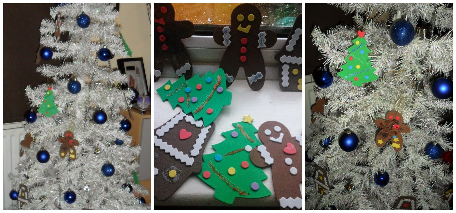 homemade christmas tree decorations uk