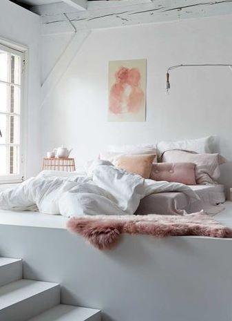 Decoración con rosa cuarzo