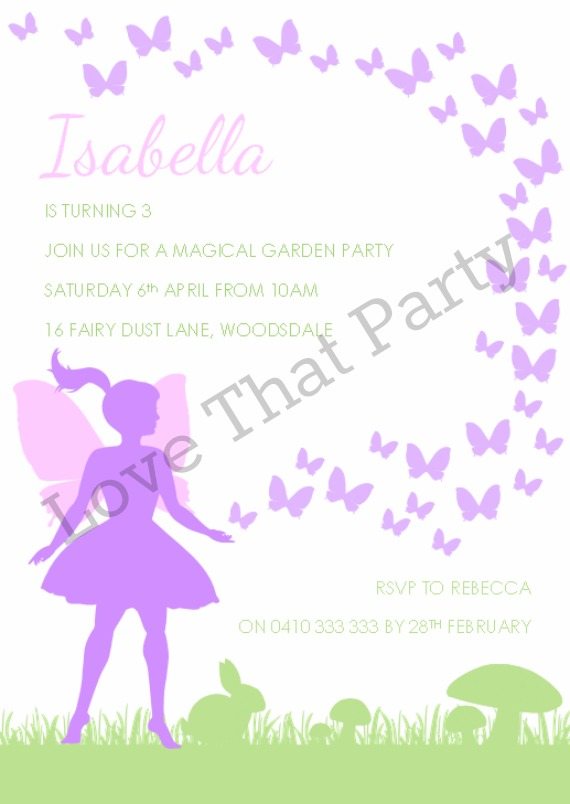 fairy party invitation fairy party decorations and fairy party supplies