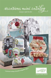 Stampin' Up 2012 Occasions Mini Catalog