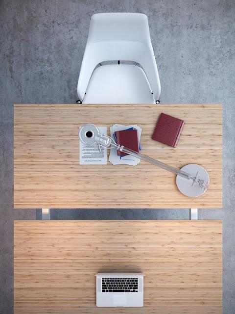 Meja Kerja Kantor Modern 9