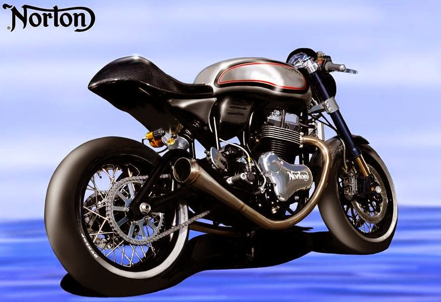Norton Dominator SS (2015 Rendering) Rear Side
