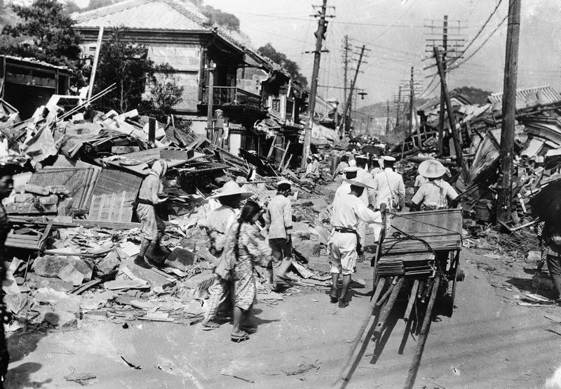 japan 1923 the great kanto