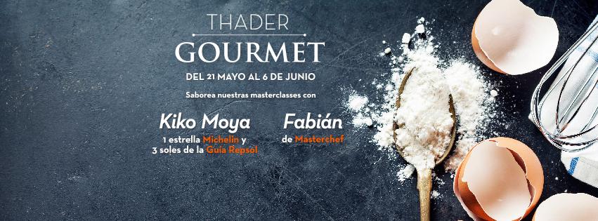 """Masterclasses, talleres, mercado de productos y mucho más en """"Thader Gourmet"""""""