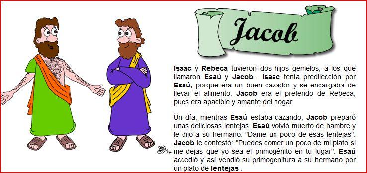 Religión las Vegas: JACOB Y ESAÚ.