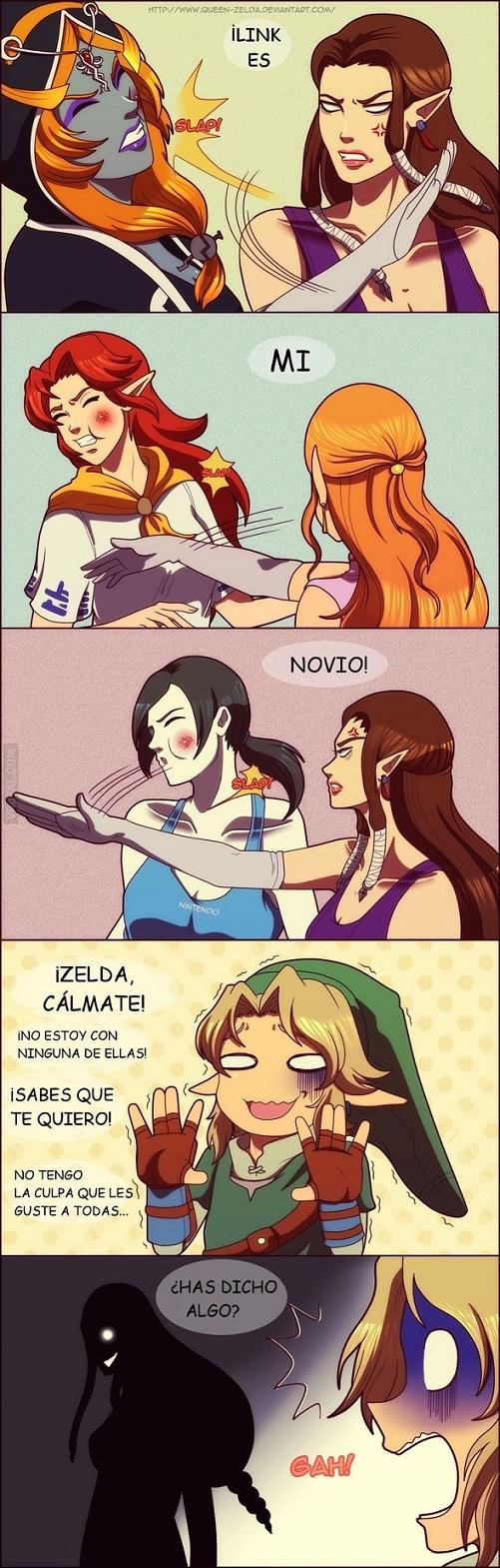 Zelda y sus Problemas de Celos