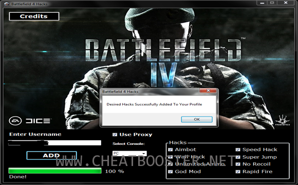 http://www.cheatbooster.net/2013/12/battlefield-4-hack-tool-plus-trainer.html