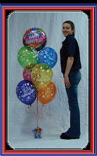 Balloon Bouquet Congratulations