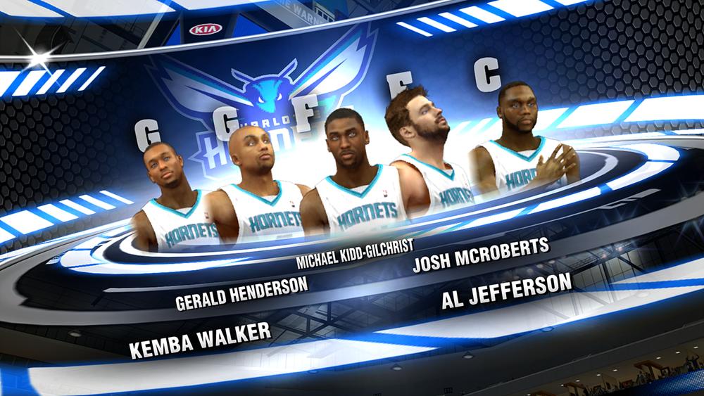 Charlotte Hornets 2014 NBA 2K14