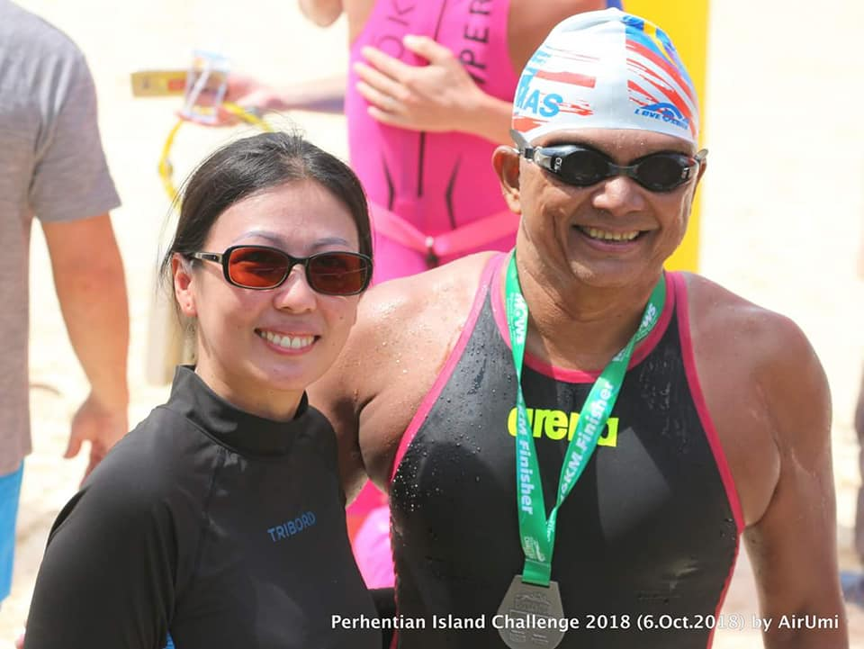 16 km Solo Swim around Pulau Perhentian Besar