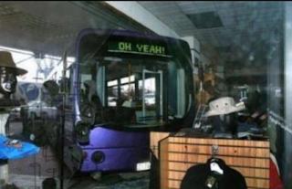 smešne slike: Autobuska nesreća