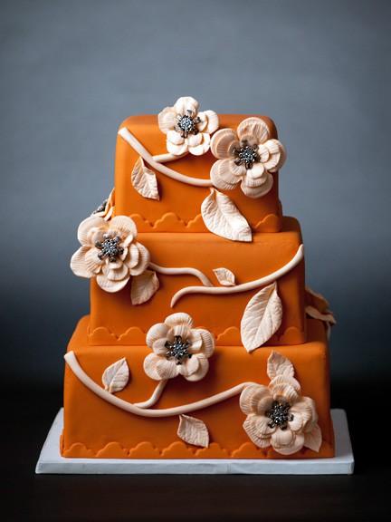 Inspired Wedding Color Tangerine