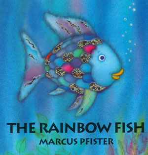 Draws attention march 2011 for Rainbow fish pictures