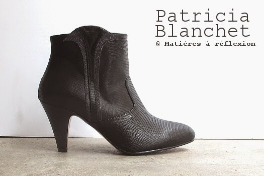 Low boots Patricia Blanchet bottines noir