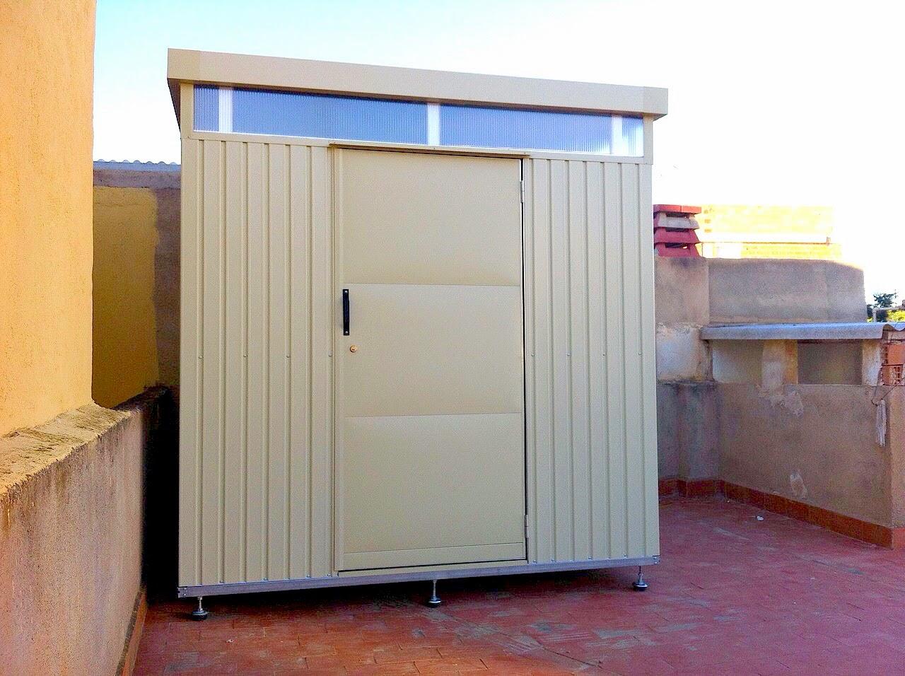 Trasteros met licos para terraza y jard n ltimas for Trastero jardin