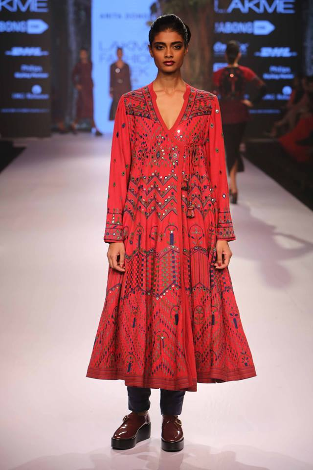 Anita Dongre Lakmé Fashion week a/w 2015