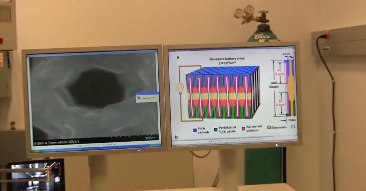 علماء يبتكرون بطارية تشحن في 12 دقيقة فقط (فيديو)