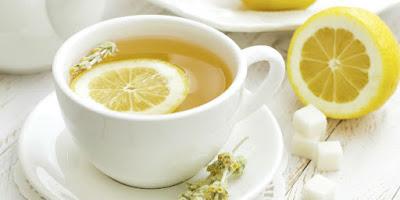 Air Lemon Hangat
