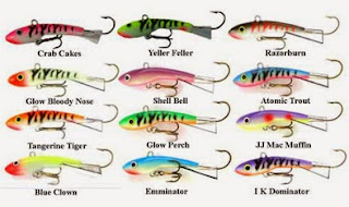 Moonshine Shiver Minnows for Open Water Walleyes
