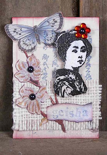 Geisha Altered Art