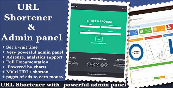 URL Shortener with Ads and Powerful Admin - CodeCanyon