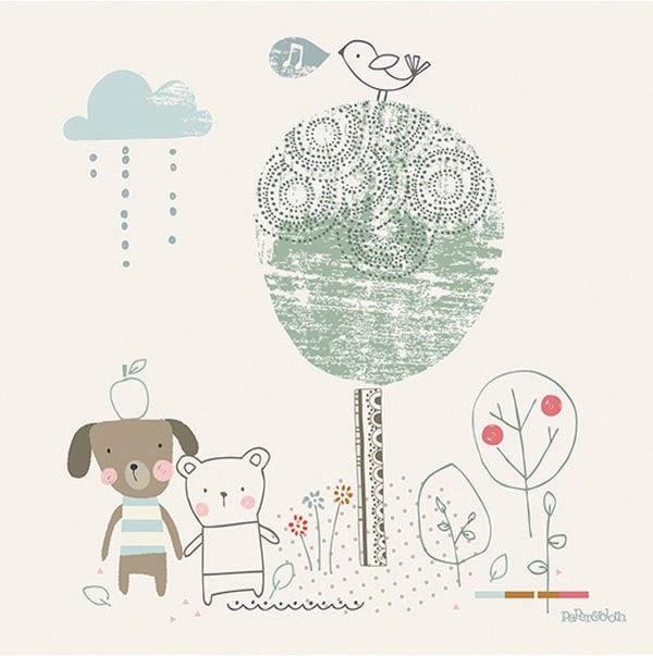 Love print studio blog paper cloth for lilipinso - Tableau chambre bebe garcon ...