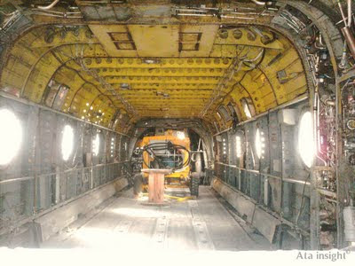 Fuerza aérea aviones interior Tecnópolis