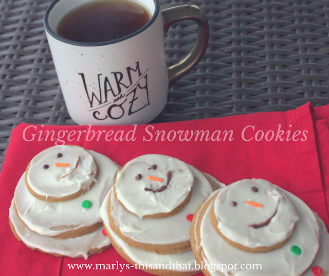 Make your snowmen inside with Finnish Gingersnap Recipe and White Chocolate