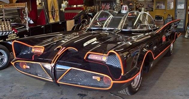 Big block blog how george barris built the original batmobile