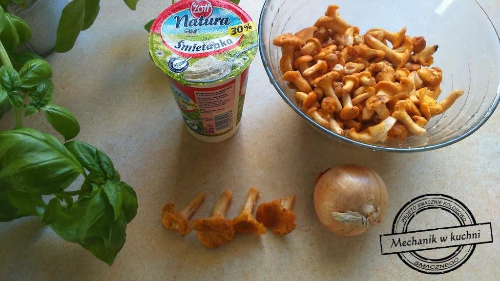 Sos kurkowy podstawowy baza mechanik w kuchni przepis grzyby suszone