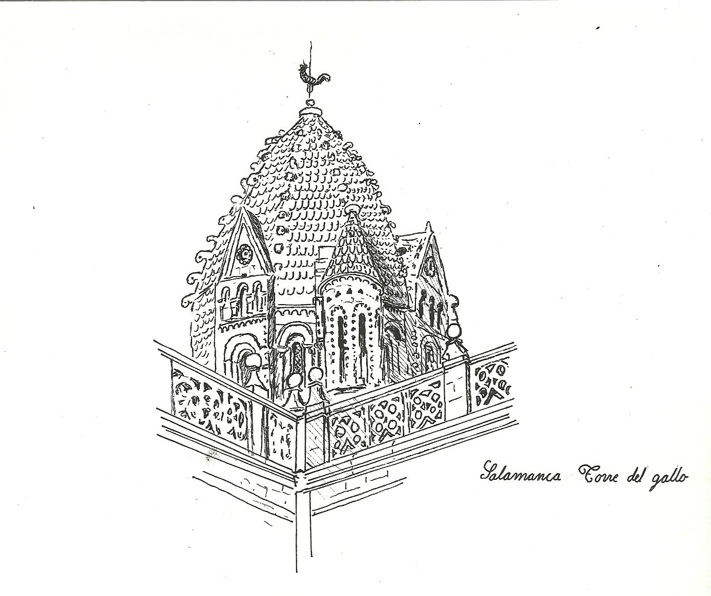 Ladrones de Cuadernos: Salamanca, Catedral y Torre del Gallo
