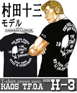 T-Shirt Crows Zero - TFOA - Kode H-3