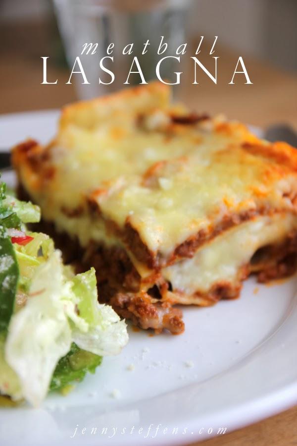 Jenny Steffens Hobick: Meatball Lasagna