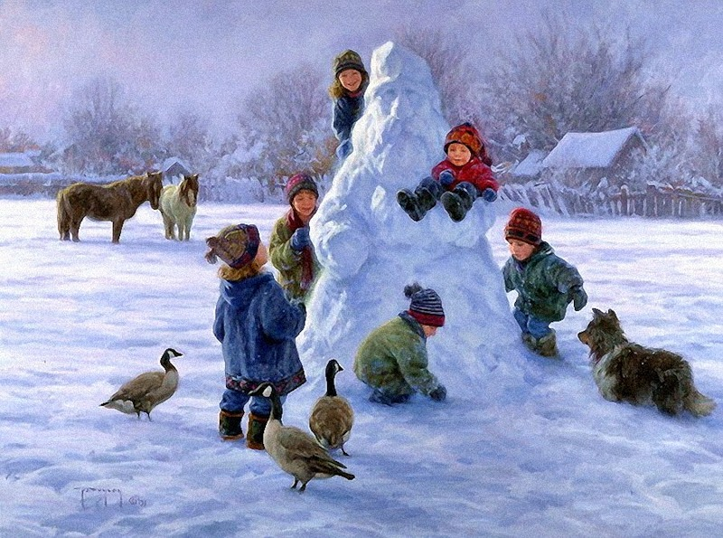 Роберт дункан зимние забавы