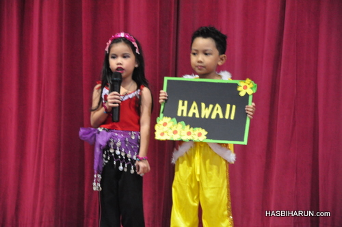 Hawaii in Smart Reader Kids Annual Concert and Convocation 2012 by Hai O biozone food purifier agent