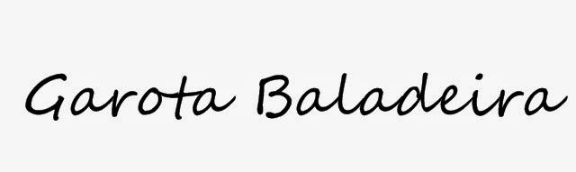 Garota Baladeira
