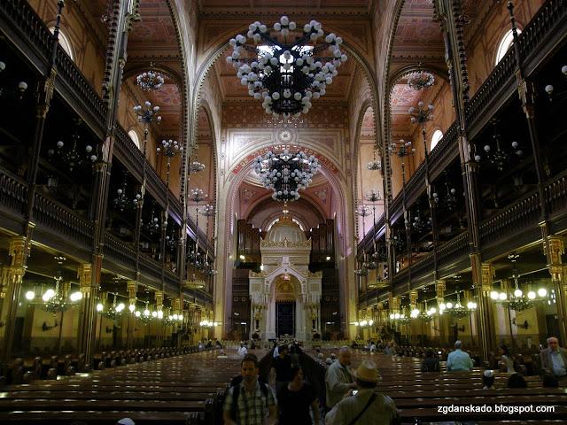 Budapeszt - synagoga