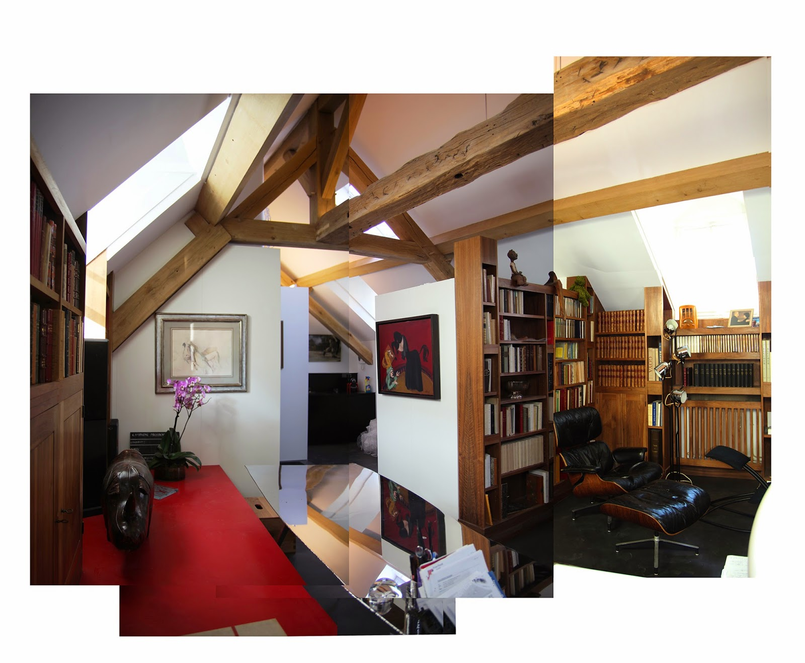 Reforma de vivienda París, Rehabilitación de edificio París, Loft Paris,  Architecture París.