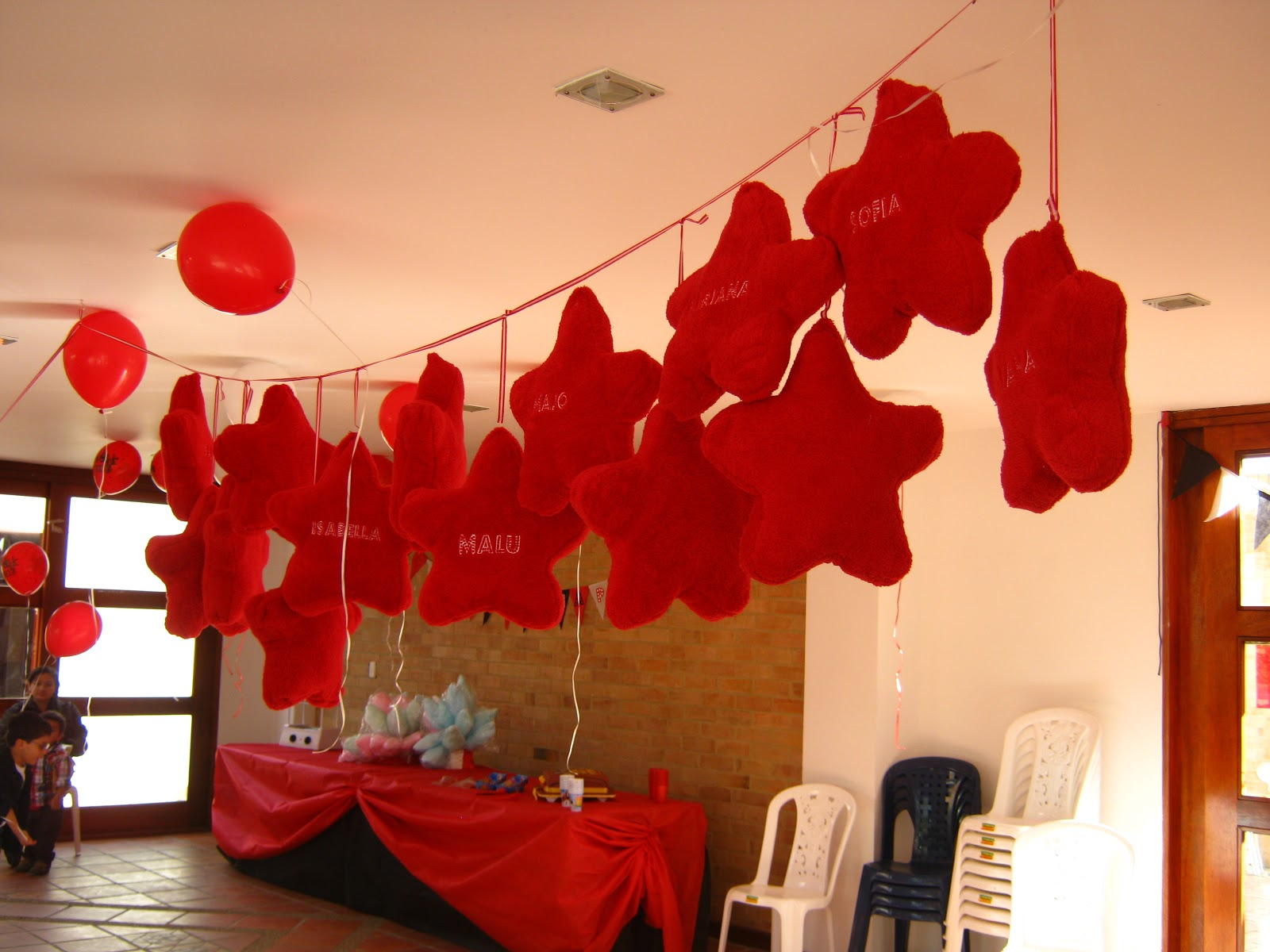 Handy mom fiesta de high school musical decoraci n y for Decoracion deportiva