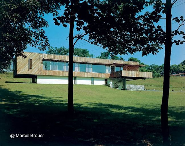 Residencia en Estados Unidos estilo Moderno de posguerra años 1947 - 48