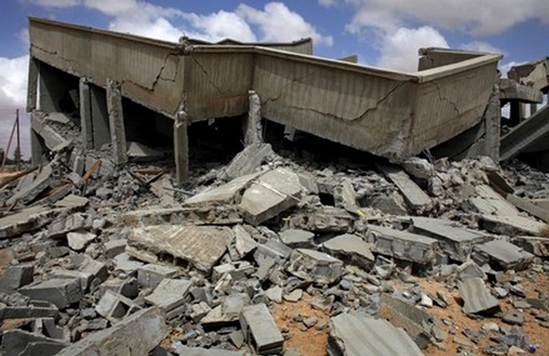 war crime in libya