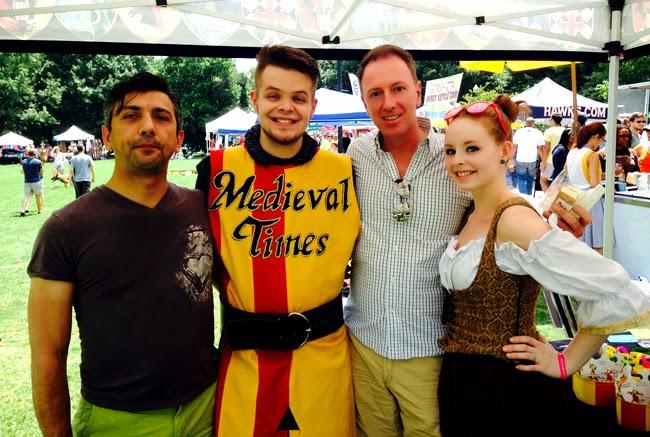 Medieval Times, Atlanta Ice Cream Festival, Piedmont Park