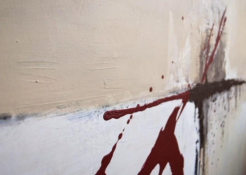 Wandbilder Acrylbilder Leinwandbilder handgemalt: Wandbilder modern ...
