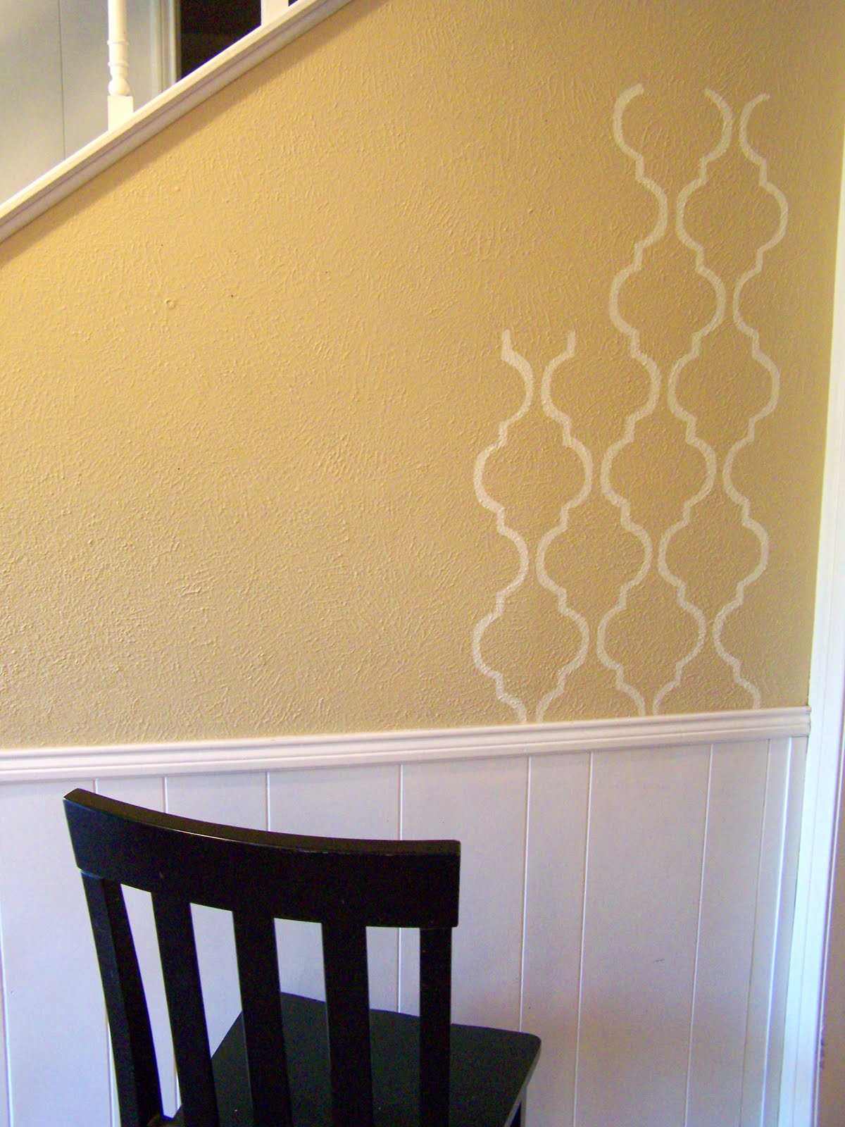 older and wisor: (Idiot Proof) Painted Wallpaper