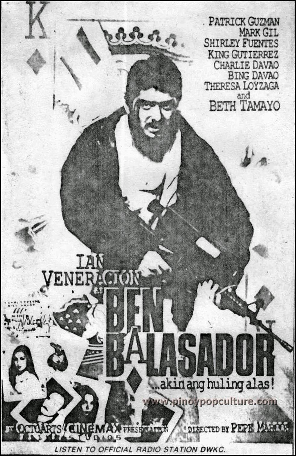 Ian Veneracion, Ben Balasador