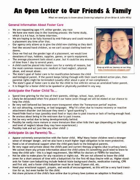 Letter Of Recommendation For Adoptive Parent Tirevi